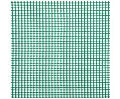 Rete Quadra Da Giardino 5mm In Plastica 1x30m Rama Mirror Verde