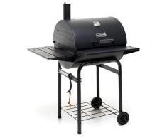 Barbecue A Carbone Carbonella 90x76x126 Cm In Acciaio Sochef Pablo 55