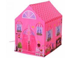 Tenda Casetta Per Bambini 93x69x103 Cm Benzoni Principessa Rosa