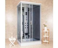 Box Doccia Idromassaggio 110x90 Cm Sauna E Bagno Turco Vorich Element
