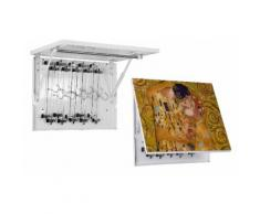Stendibiancheria Da Parete Quadro Magico 60x45 Cm Con Grucce Giotto Magic Bacio