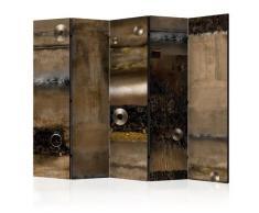 Paravento 5 Pannelli - Metal Alliance Ii 225x172cm Erroi