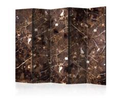 Paravento 5 Pannelli - Marble River Ii 225x172cm Erroi