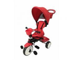 Passeggino Triciclo Per Bambini Passeggino Comfort 4 In 1 Happy Kids Rosso