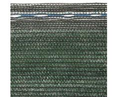 Rete Frangivista 90% Da Giardino 10x2m Rama Shade Verde