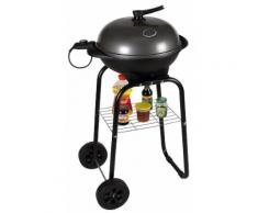 Barbecue Elettrico 2000w Con Ruote Vannini Gioround