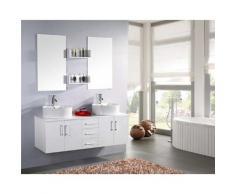 Mobile Bagno Sospeso 150 Cm White Lion Carnelli Bianco