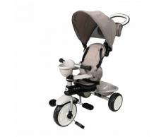 Passeggino Triciclo Per Bambini Passeggino Comfort 4 In 1 Happy Kids Beige