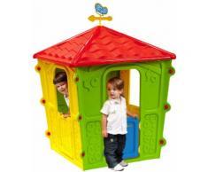 Casetta Gioco Per Bambini In Resina 108x108x152cm Bauer