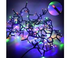 Luci Di Natale 1000 Led 20m Multicolor Da Esterno Adami