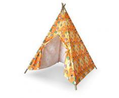 Casetta Tenda Indiana Per Bambini In Bamboo E Poliestere Tepee
