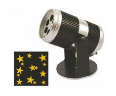 Proiettore Laser A Led Stelle Oro Luci Natalizie Da Interno Soriani Stars