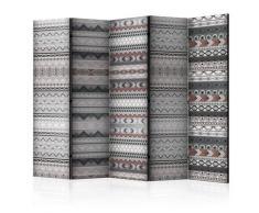 Paravento 5 Pannelli - Ethnic Design Ii 225x172cm Erroi