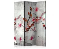 Paravento 3 Pannelli - Concrete Orchid 135x172cm Erroi