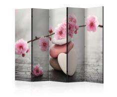 Paravento 5 Pannelli - Zen Flowers Ii 225x172cm Erroi