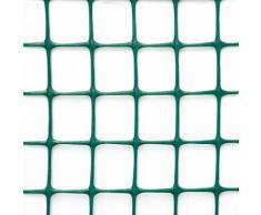Rete Quadra Da Giardino 50mm In Plastica 1x25m Rama Mirror Verde