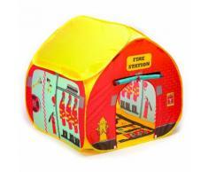 Tenda Casetta Per Bambini Autoaprente Fun 2 Give Caserma Dei Pompieri
