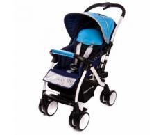 Passeggino Tradizionale Per Bambini Reversibile Trupia Z8 Azzurro