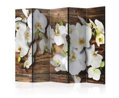 Paravento 5 Pannelli - Forest Orchid Ii 225x172cm Erroi