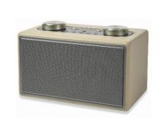 Altoparlante Speaker 40w Wireless Con Radio In Ecopelle Kooper Twist Ecrù