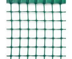 Rete Quadra Da Giardino 20mm In Plastica 1x30m Rama Mirror Verde
