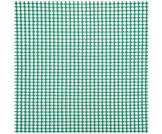Rete Quadra Da Giardino 5mm In Plastica 0,5x30m Rama Mirror Verde