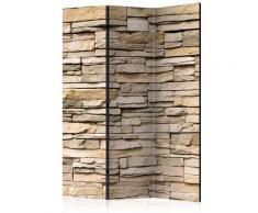 Paravento 3 Pannelli - Decorative Stone 135x172cm Erroi