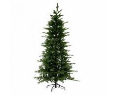 Albero Di Natale Artificiale Slim Con 2175 Rami ø127xh210cm Adami Monte Rosa Verde