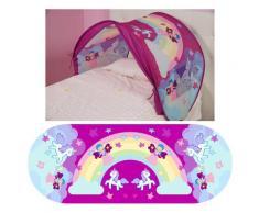 Tenda Gioco Per Letto Bambina Sleepfun Tent Sogni Di Fata Rosa