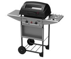 Barbecue A Gas Gpl Pietra Lavica 2 Fuochi Campingaz Expert Deluxe