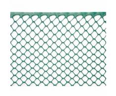Rete Esagonale Da Giardino 15mm In Plastica 0,5x30m Rama Mirror Verde