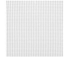 Rete Quadra Da Giardino 5mm In Plastica 1x30m Rama Mirror Bianco