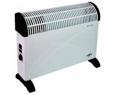 Termoconvettore Elettrico Ventilato 2000w Beker Bianco