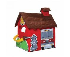 Casetta Tenda Bambini In Tessuto Bazoongi Fire Station