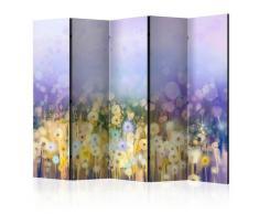 Paravento 5 Pannelli - Painted Meadow Ii 225x172cm Erroi