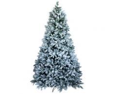 Albero Di Natale Artificiale Innevato 240 Cm 75 Rami Vanzetti Pino Del Gargano