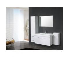 Mobile Bagno Sospeso 100 Cm Carnelli White London Bianco