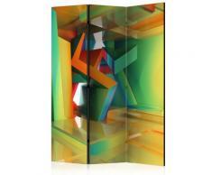 Paravento 3 Pannelli - Colourful Space 135x172cm Erroi