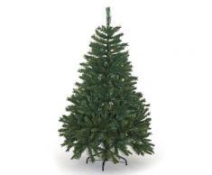 Albero Di Natale Artificiale Alpino Verde Ignifugo 2721 Rami Altezza 240cm