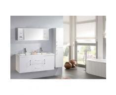 Mobile Bagno Sospeso 120 Cm White Malibù Carnelli Bianco