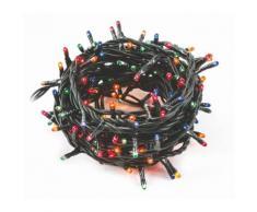 Luci Di Natale 300 Minilucciole 12m Multicolore Da Interno Soriani