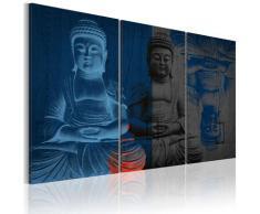 Quadro - Buddha - Scultura 60x40cm Erroi