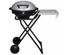 Barbecue Elettrico Portatile 2400w Con Ruote Vannini Gioval