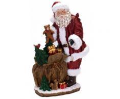Babbo Natale In Resina H50 Cm Con Regali Adami