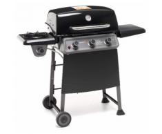 Barbecue A Gas Gpl 3 Fuochi 13,1kw Con Fornello Laterale Sochef Diablo X