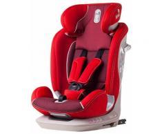 Seggiolino Auto Per Bambini Gruppo 1/2/3 9-36kg Isofix Kiwy Alia Cherry
