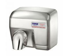 Asciugamani Elettrico Antivandalo Con Fotocellula 2400w Vama Ariel Sf Acciao Inox Satinato