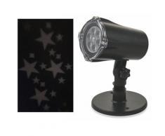Proiettore Laser A Led Stelle E Babbo Natale Luci Natalizie Da Interno E Esterno Soriani
