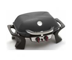 Barbecue A Gas Gpl Portatile 2 Fuochi Taddei Easy Nero