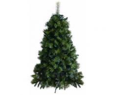 Albero Di Natale Artificiale 150 Cm 30 Rami Vanzetti Abete Del Gargano Verde